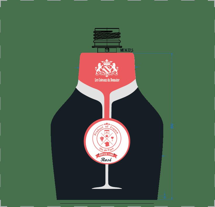 rosé packaging atelier cortical